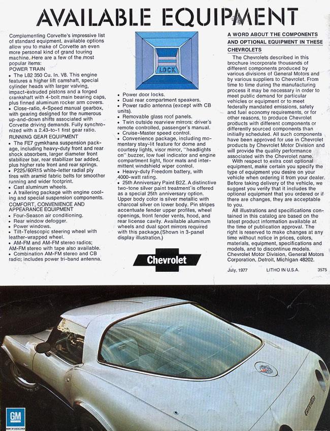 1978 Original Brochure