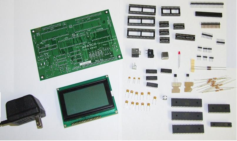NCS-EB50 Complete Kit w/W65C816S CPU ― APATCO Technologies